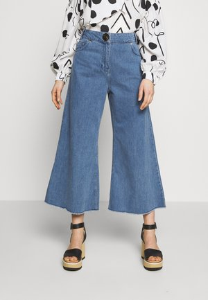 CROPPED - Jeans Relaxed Fit - stone wash