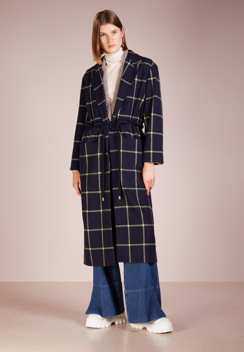 Mother of Pearl - ANYA - Classic coat - navy