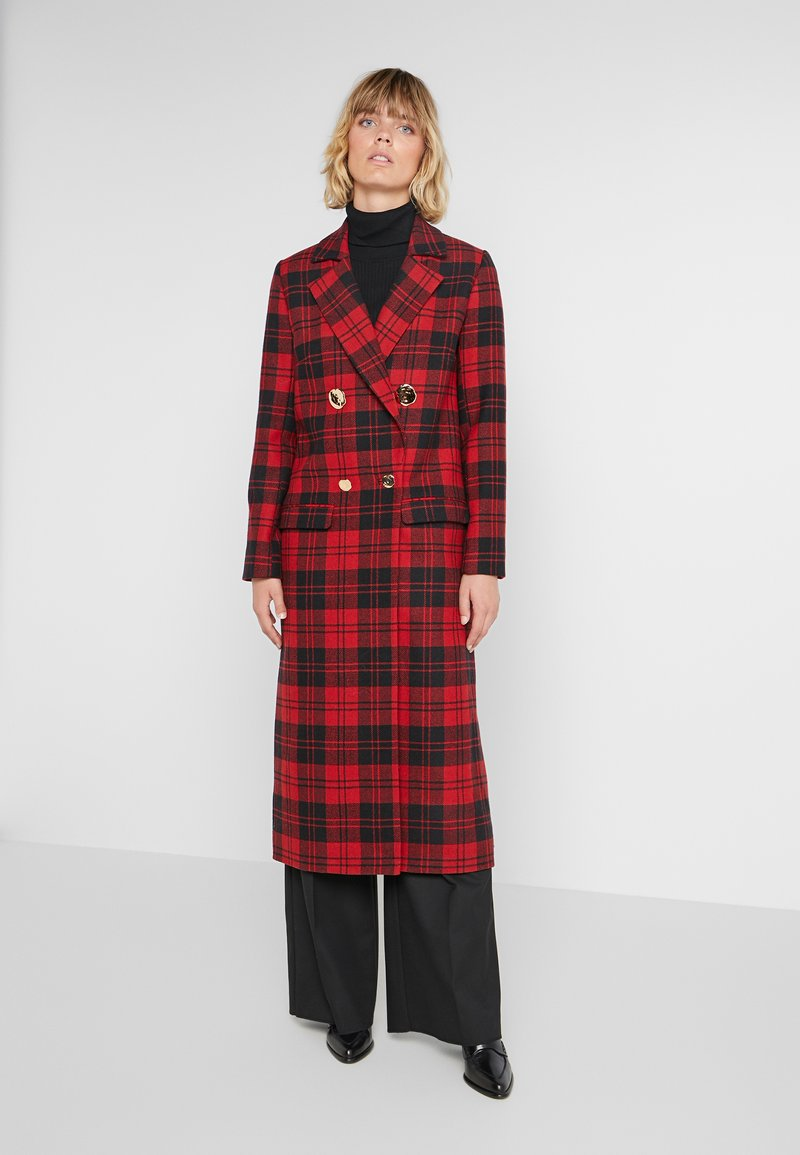 Mother of Pearl - MABLE - Classic coat - red