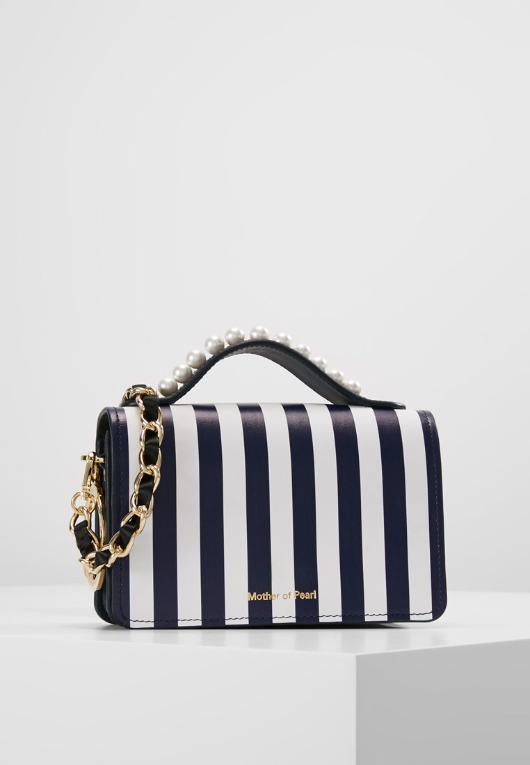 Mother of Pearl - JUDE STUD HANDLE - Borsa a mano - navy/white