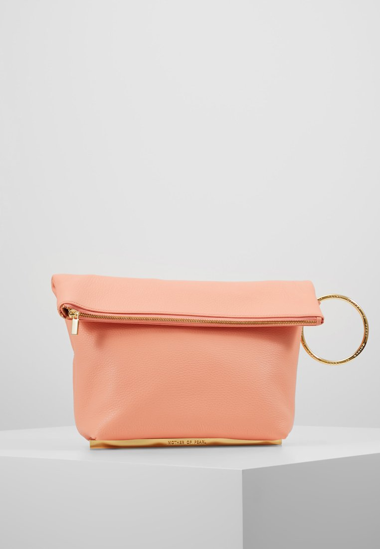 Mother of Pearl - RUBY - Clutch - coral