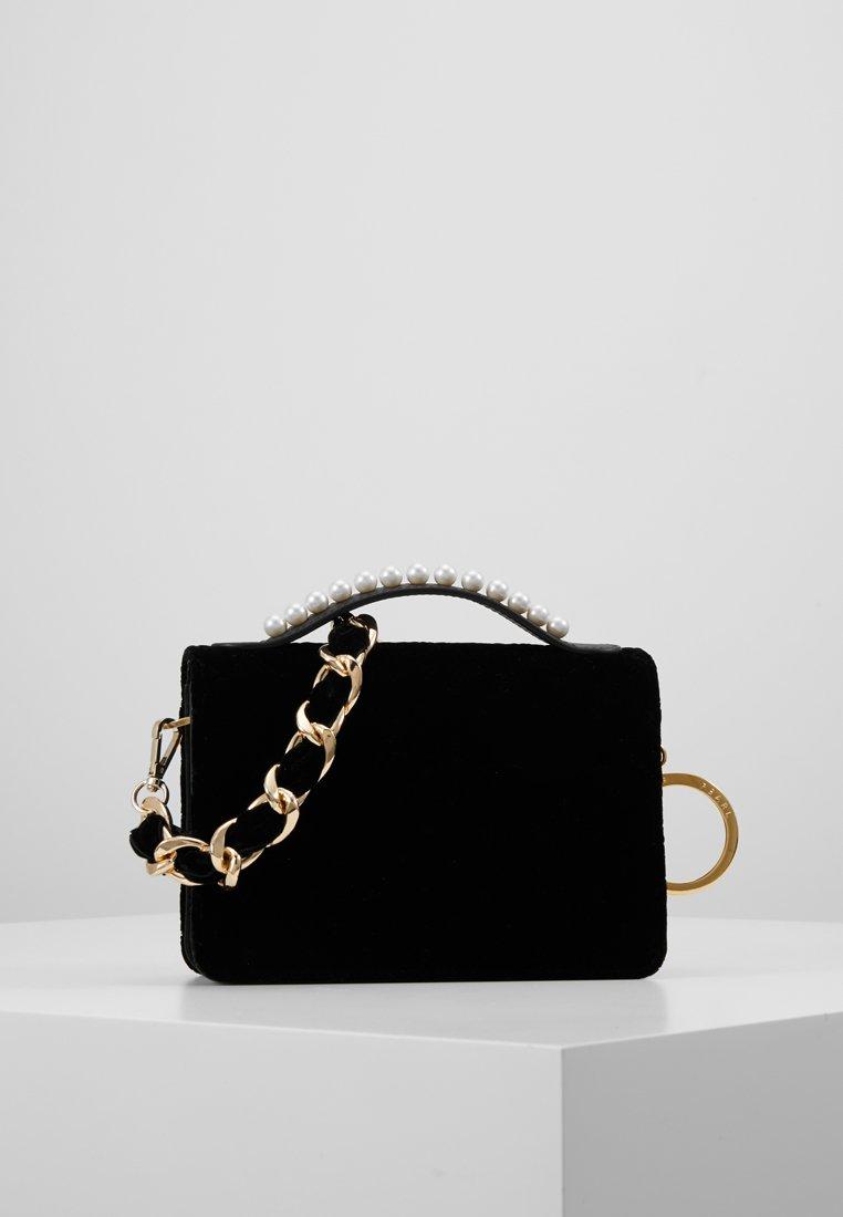 Mother of Pearl - DREW STUD HANDLE - Across body bag - black