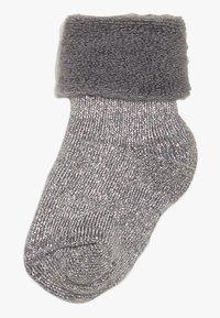 MP Denmark - ELIZABETH BABY 2 PACK - Ponožky - grau/beige - 1