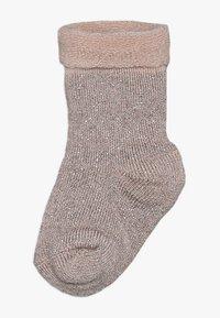 MP Denmark - ELIZABETH BABY 2 PACK - Ponožky - rosa/beige - 1