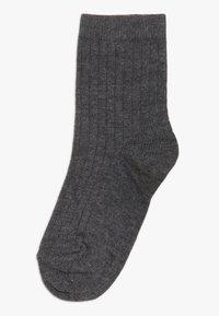 MP Denmark - COPENHAGEN 2 PACK - Ponožky - dark grey melange/rooibos tea - 1