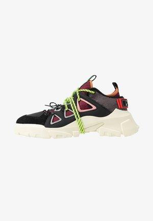ORBYT  - Sneakersy niskie - coral/multicolor