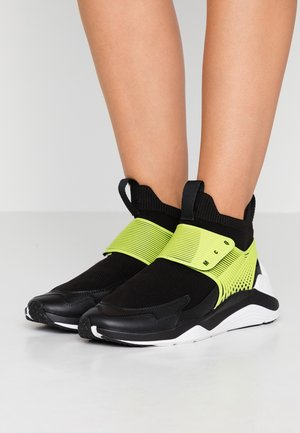 HIKARU 3.00 - High-top trainers - black/lime
