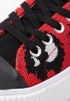 McQ Alexander McQueen - PLIMSOLL PLATFORM - Sneaker low - red/black