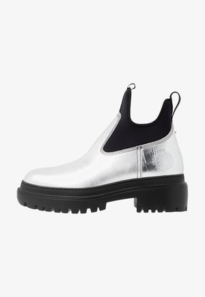 TRYB BOOT - Plateaustiefelette - silver