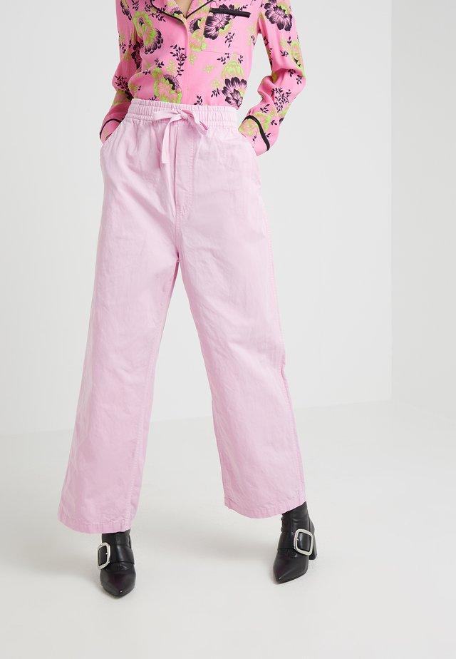 MIAMI FIELD PANTS - Stoffhose - miami pink