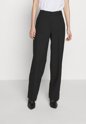 STRAIGHT LEG TROUSER - Broek - black