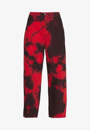 MARU  - Spodnie materiałowe - red