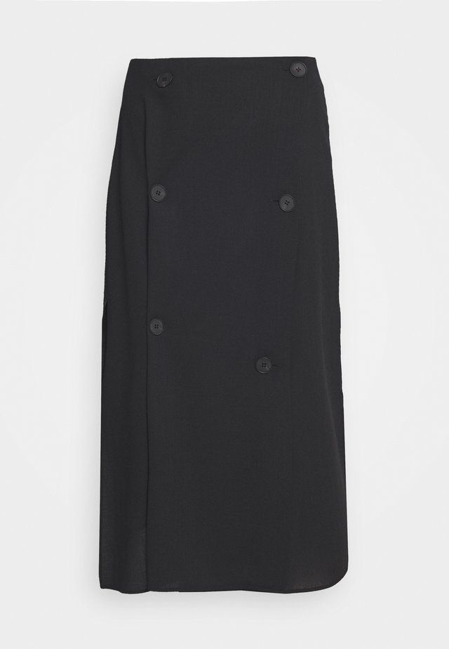 KOTOMI SKIRT - A-linjekjol - darkest black