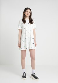 McQ Alexander McQueen - FRESH CUT BABYDOLL - Jersey dress - ivory - 0