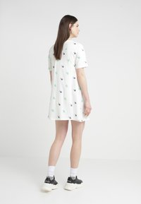 McQ Alexander McQueen - FRESH CUT BABYDOLL - Jersey dress - ivory - 2