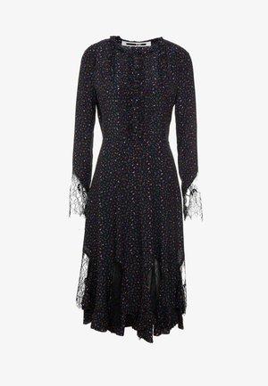ROMANTIC PANELLED - Robe chemise - black