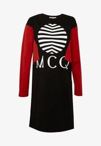 McQ Alexander McQueen - SHIZOKU - Korte jurk - darkest black/rust - 3