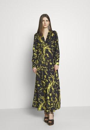 BOUDOIR DRESS - Maxi šaty - darkest black