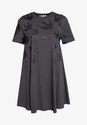 Jerseyklänning - black ash