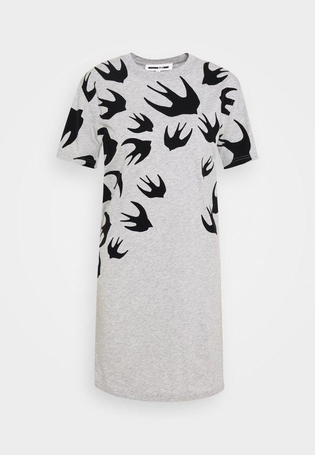 Jerseykleid - grey