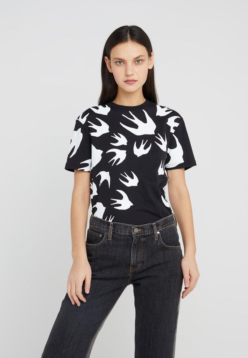 McQ Alexander McQueen - CLASSIC - T-shirt print - darkest black
