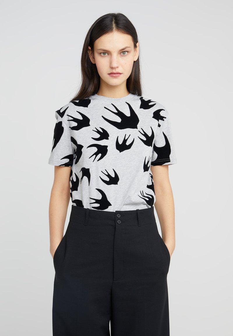 McQ Alexander McQueen - CLASSIC  - T-shirt print - mercury melange