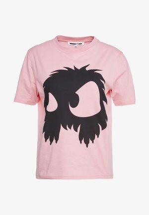 BAND TEE - T-Shirt print - ambient pink