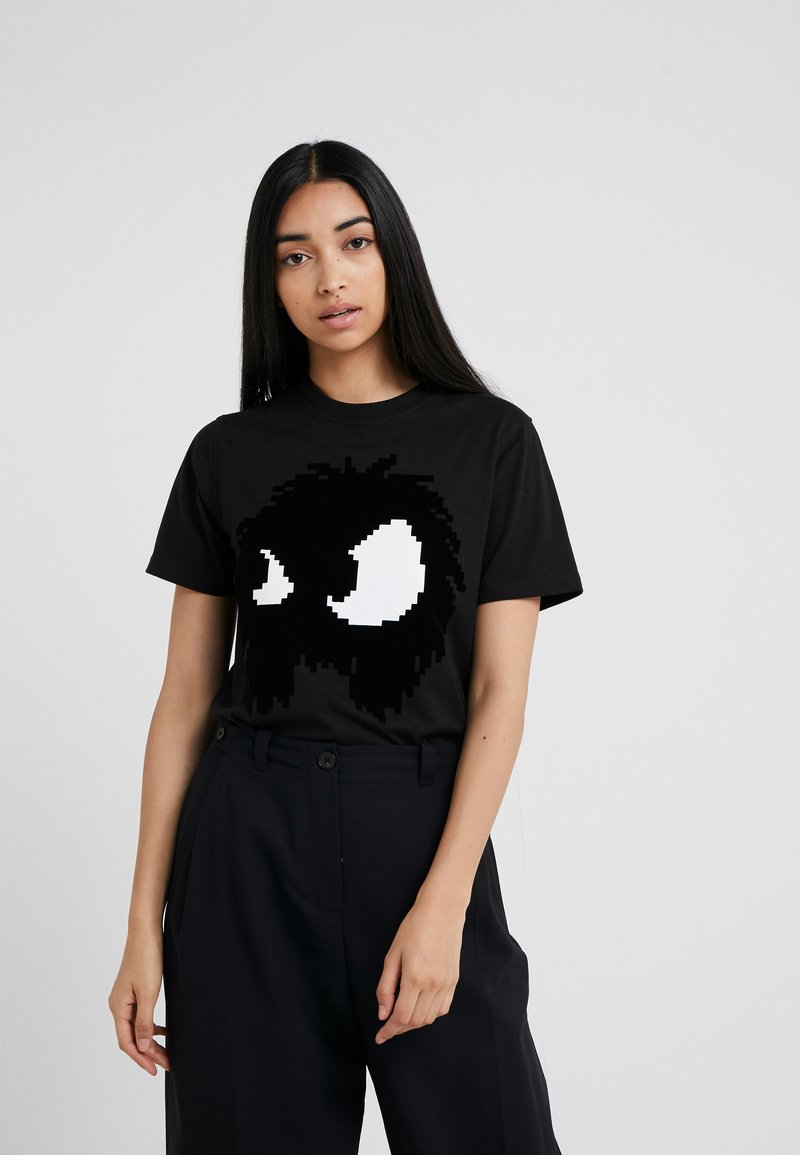 McQ Alexander McQueen - BAND TEE - T-Shirt print - darkest black