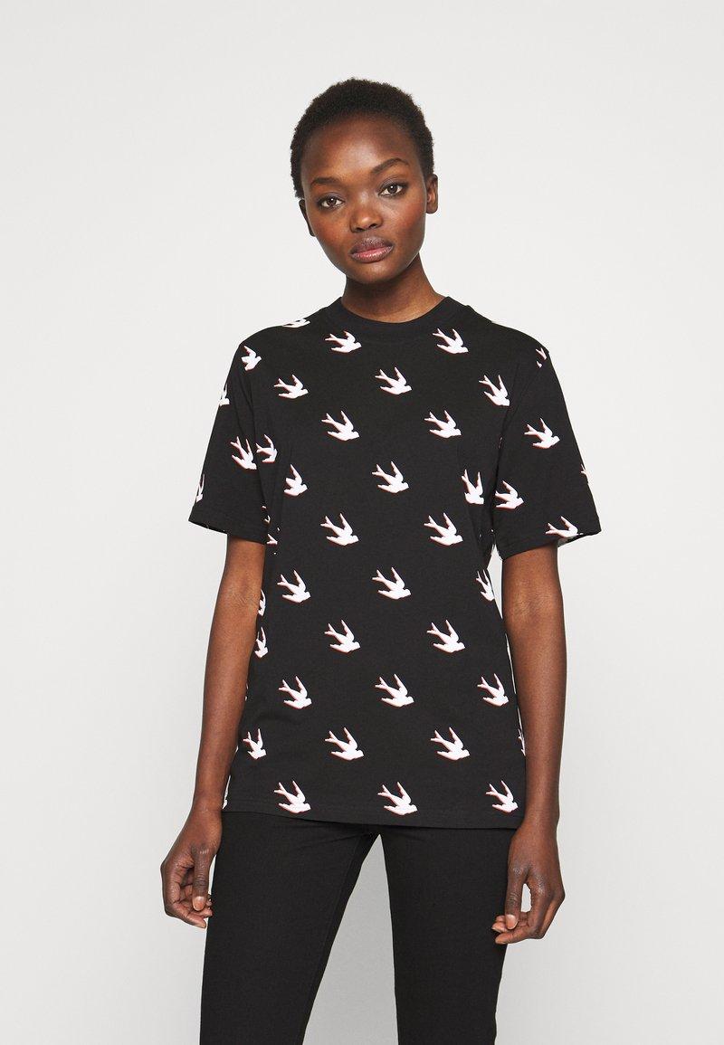 McQ Alexander McQueen - BAND - T-shirts print - black