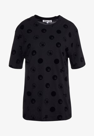 BOYFRIEND TEE - T-Shirt print - black