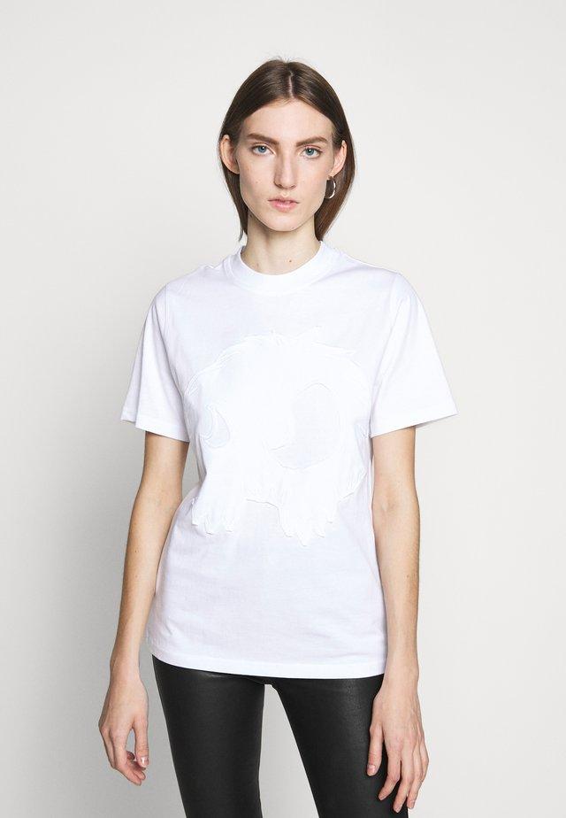 BAND TEE - T-Shirt print - optic white