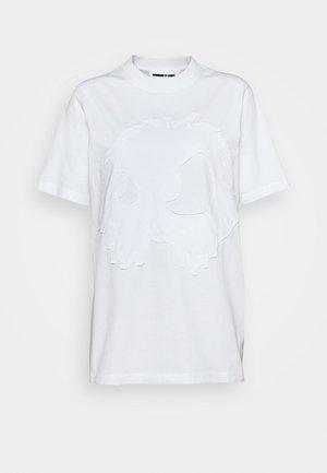 BAND TEE - Printtipaita - optic white
