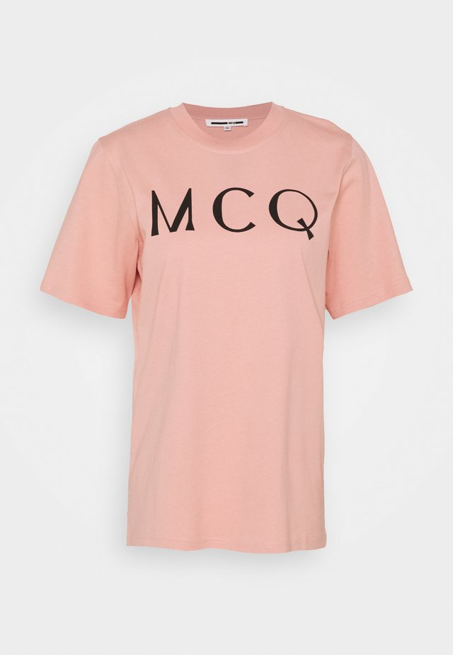 BAND TEE - T-Shirt print - cameo pink