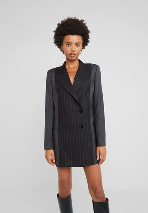 CUT UP BOYFRIEND - Blazer - black/red