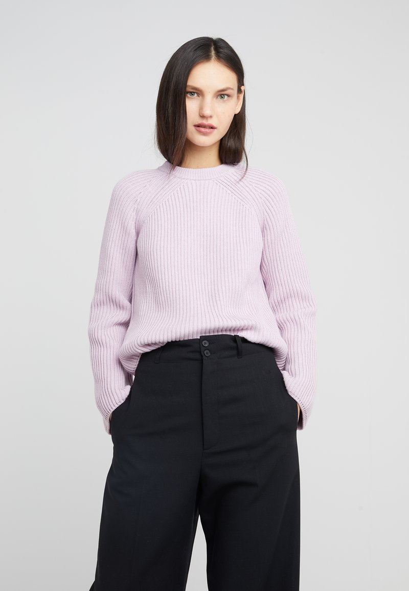 McQ Alexander McQueen - LACE UP  - Strickpullover - miami pink