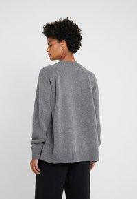 McQ Alexander McQueen - DRAWSTRING - Sweter - grey - 2