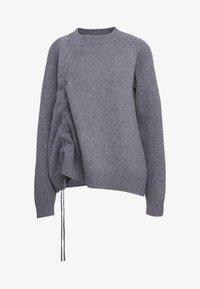 McQ Alexander McQueen - DRAWSTRING - Sweter - grey - 4