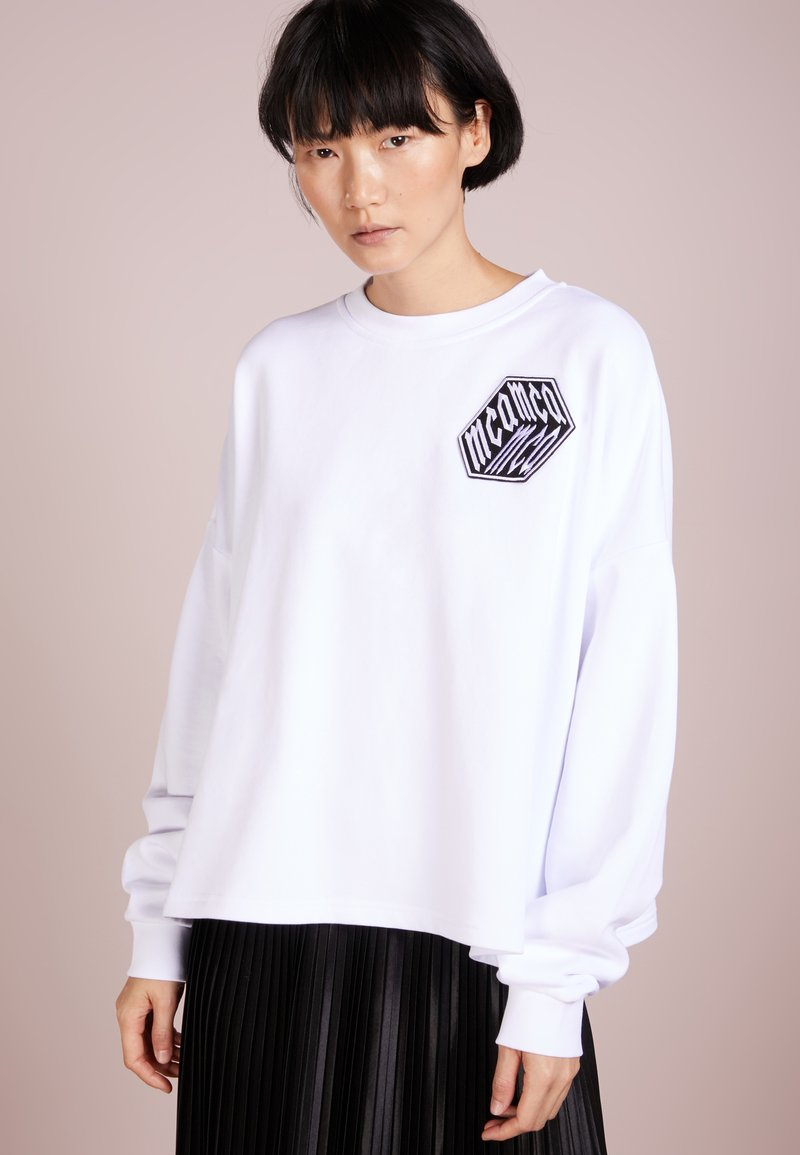 McQ Alexander McQueen - Sweatshirt - optic white