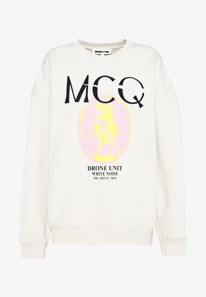 BAND CREW NECK - Sweatshirt - grey rain
