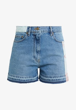 CALI PATCHED - Jeansshort - california blue