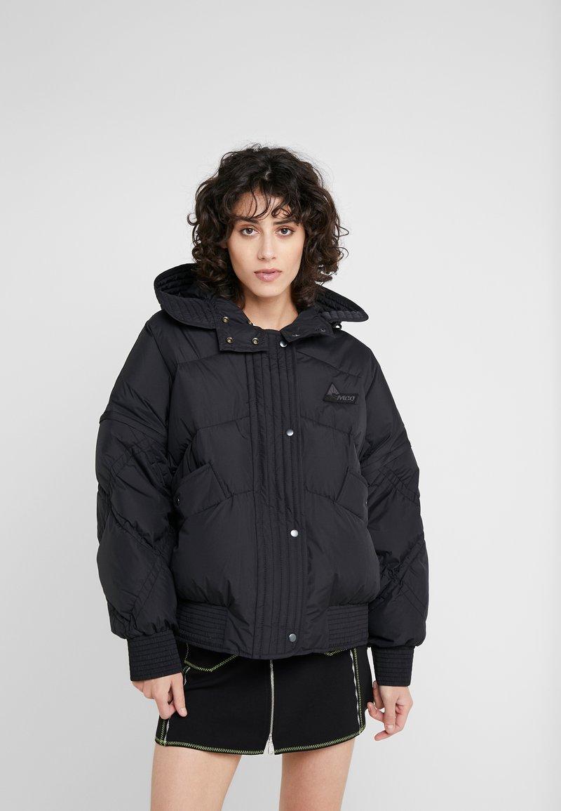 McQ Alexander McQueen - HYBRID PUFFER - Down jacket - darkest black