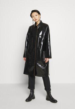 POCKET COAT - Wollmantel/klassischer Mantel - black