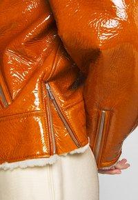 McQ Alexander McQueen - BIKER - Leren jas - caramel - 7
