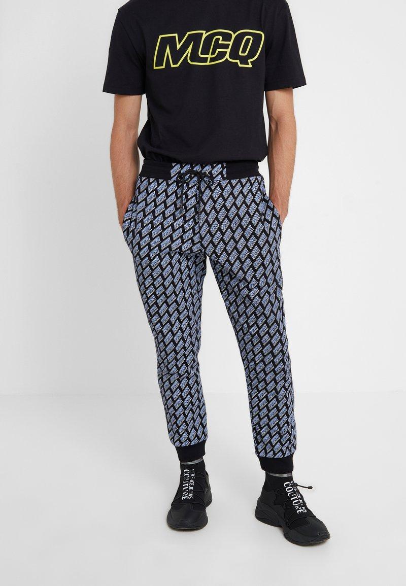 McQ Alexander McQueen - Pantalon de survêtement - darkest black