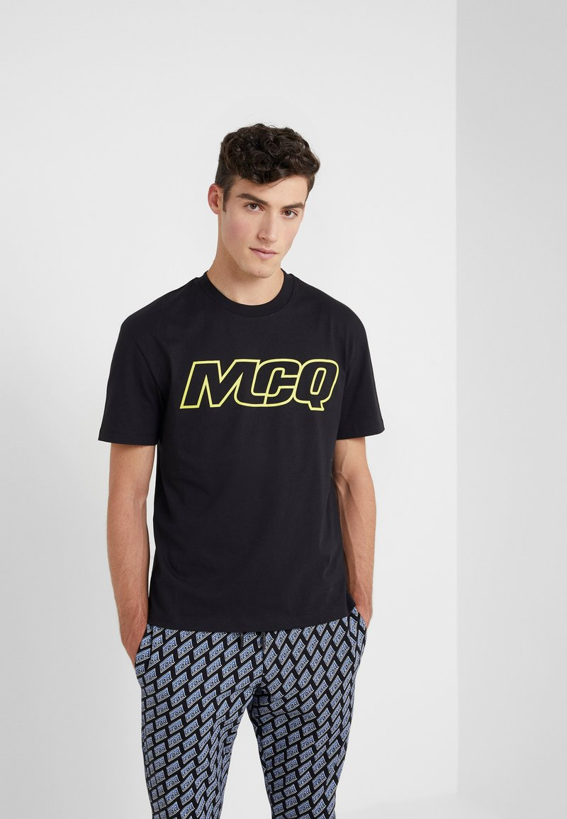 McQ Alexander McQueen - DROPPED SHOULDER TEE - T-shirts print - darkest black