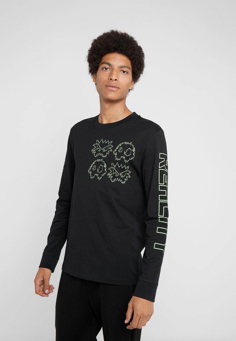 McQ Alexander McQueen - CREW TEE - T-shirt à manches longues - darkest black