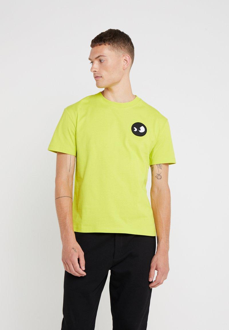 McQ Alexander McQueen - DROPPED SHOULDER TEE - Basic T-shirt - yellow