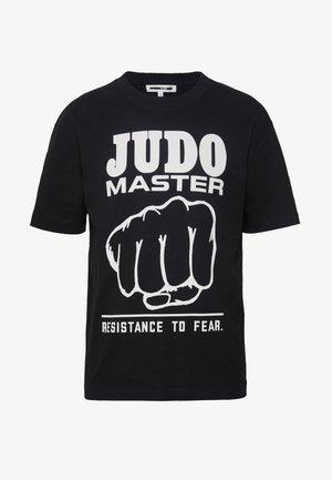 JUDO MASTER DROPPED SHOULDER  - T-Shirt print - darkest black