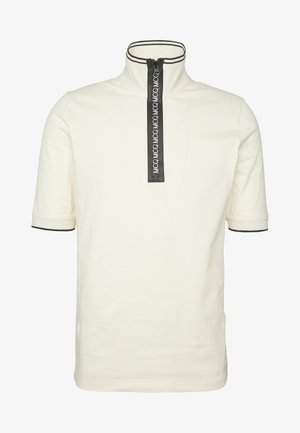 DROPPED SHOULDER POLO - Poloshirt - oyster