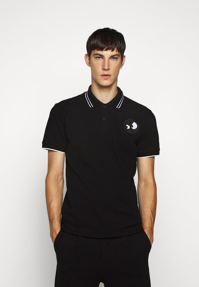 Polo - darkest black/white